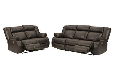 Denoron Power Reclining Sofa and Loveseat