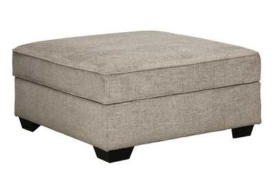 Bovarian Stone Ottoman w/Storage,Signature Design By Ashley