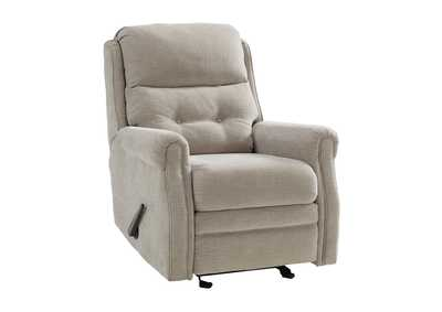 Penzberg Stone Glider Recliner,Signature Design By Ashley
