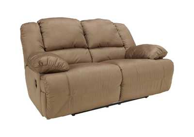 Image for Hogan Mocha Reclining Loveseat