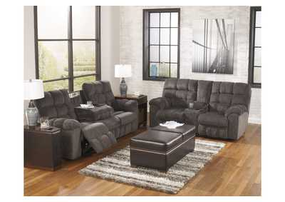 Image for Acieona Slate Reclining Sofa & Loveseat