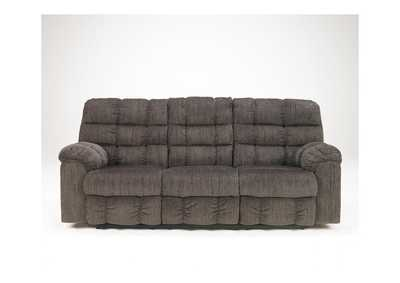 Image for Acieona Slate Reclining Sofa w/ Drop Down Table