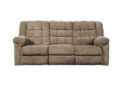 Image for Workhorse Cocoa Reclining Sofa
