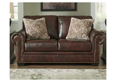 Roleson Walnut Loveseat