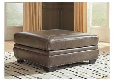 Roleson Quarry Oversized Accent Ottoman,Signature Design By Ashley