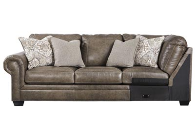 Roleson Quarry LAF Sofa w/Corner Wedge