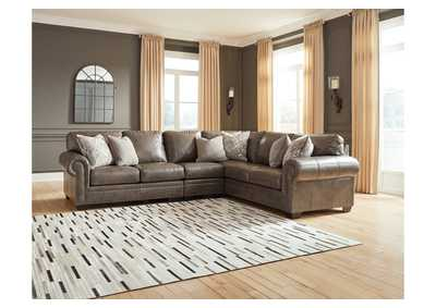 Roleson Gray LAF Chaise Sectional,Signature Design By Ashley
