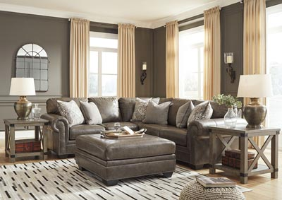 Roleson Gray 2 Piece Sectional,Signature Design By Ashley