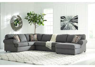 Jayceon Steel RAF Chaise Sectional