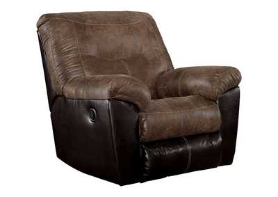 Image for Follett Coffee Rocker Recliner