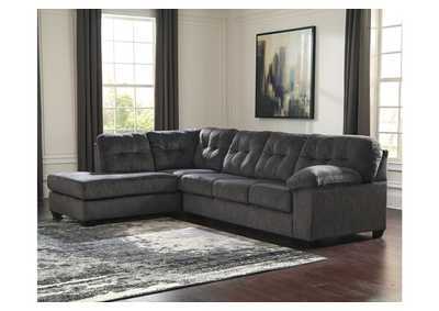 Accrington Granite LAF Chaise End Sectional