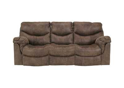 Image for Alzena Gunsmoke Reclining Sofa