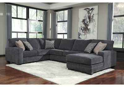 Image for Tracling Slate RAF Chaise Sectional