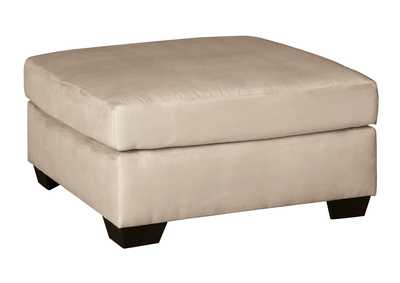 Image for Darcy Stone Oversized Accent Ottoman
