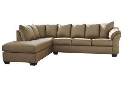 Image for Darcy Mocha LAF Chaise Sectional