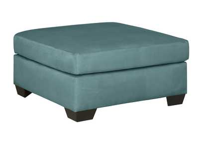 Image for Darcy Sky Oversized Accent Ottoman