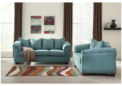 Image for Darcy Sky Sofa & Loveseat