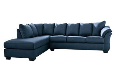 Image for Darcy Blue LAF Chaise Sectional