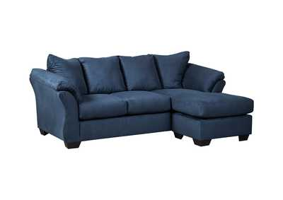 Image for Darcy Blue Sofa Chaise