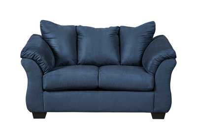 Image for Darcy Blue Loveseat