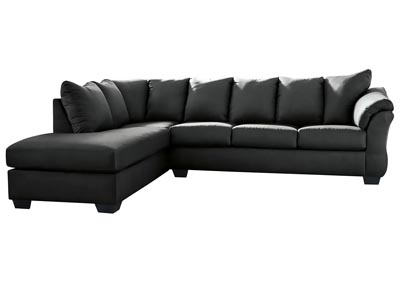 Image for Darcy Black LAF Chaise Sectional