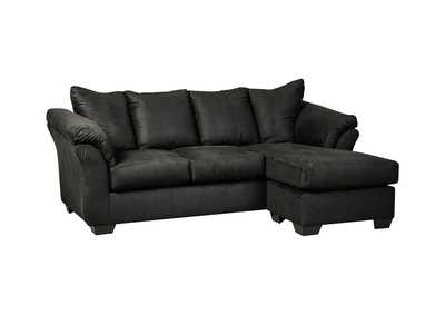 Image for Darcy Black Sofa Chaise
