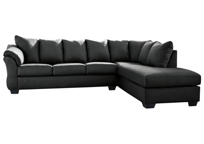 Image for Darcy Black RAF Chaise Sectional