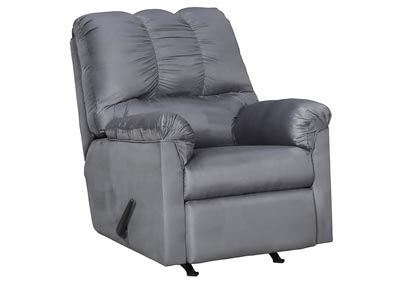 Darcy Steel Rocker Recliner,Signature Design By Ashley