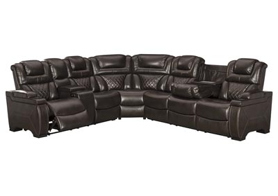 Image for Warnerton Power Reclining Sectional