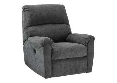 Image for McTeer Charcoal Power Recliner