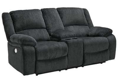 Image for Draycoll Power Reclining Loveseat with Console