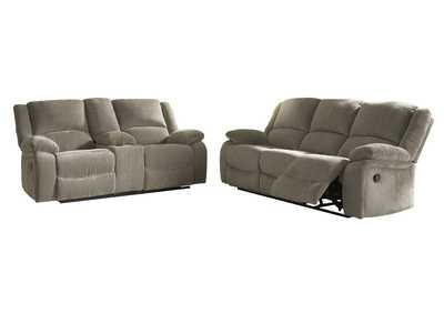 Image for Draycoll Reclining Sofa and Loveseat
