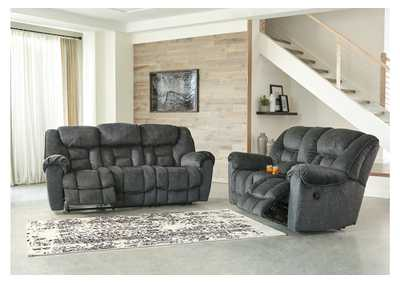Image for Capehorn Granite Reclining Sofa and Loveseat w/Console
