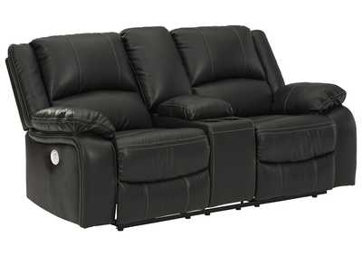 Image for Calderwell Power Reclining Loveseat with Console