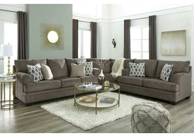 Dorsten Slate Queen Sofa Sleeper,Signature Design By Ashley