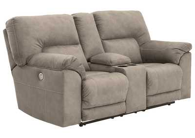 Image for Cavalcade Power Reclining Loveseat with Console