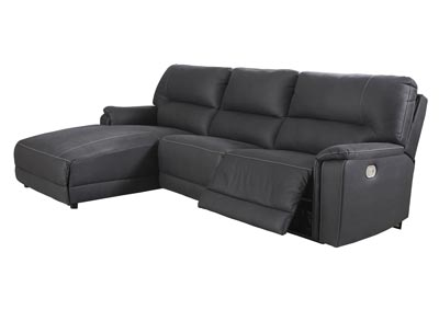 Image for Henefer Midnight Left-Arm Facing Power Chaise