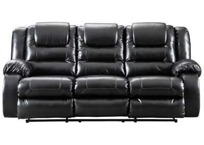 Image for Vacherie Black Reclining Sofa