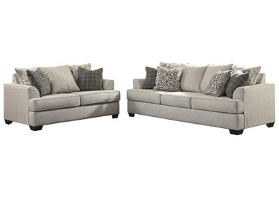 Image for Velletri Pewter Sofa & Loveseat