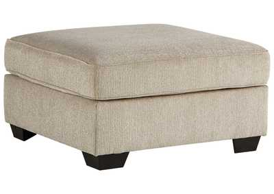 Image for Decelle Oversized Accent Ottoman