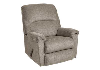 Ballinasloe Platinum Recliner,Signature Design By Ashley
