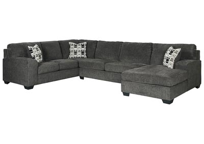 Image for Ballinasloe Smoke RAF Chaise Sectional