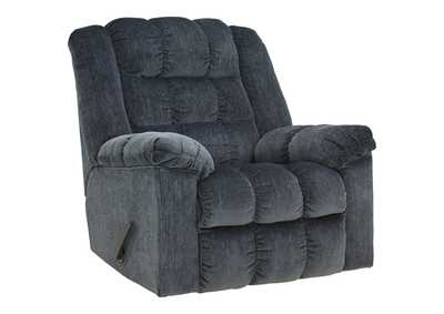 Image for Ludden Blue Rocker Recliner