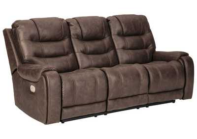 Image for Yacolt Power Reclining Sofa