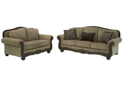 Briaroaks Sofa and Loveseat