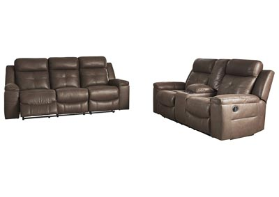 Image for Jesolo Coffee Reclining Sofa & Loveseat