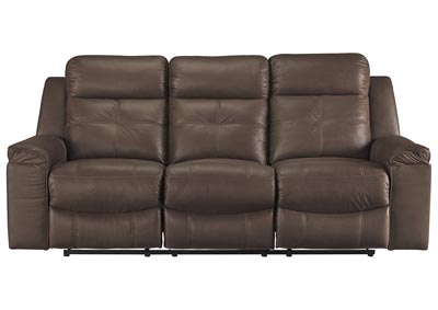 Image for Jesolo Coffee Reclining Sofa