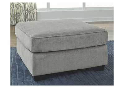 Altari Alloy Oversized Accent Ottoman