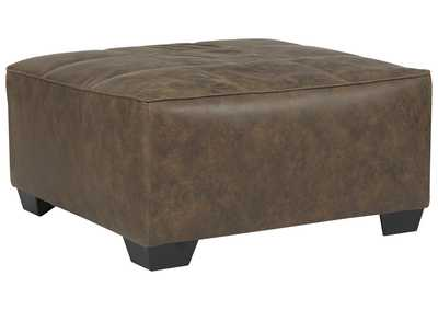 Image for Abalone Chocolate Oversized Ottoman