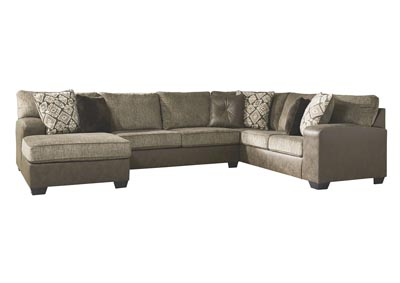 Image for Abalone Chocolate Left-Arm Facing Chaise End Sectional